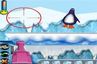 Chơi game bắn chim cánh cụt