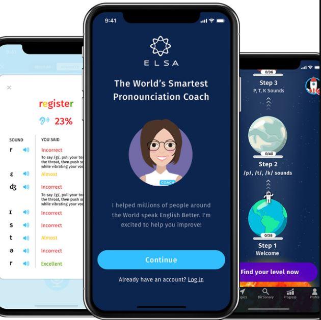 ELSA Speak v9.9.9 Mod Premium - Luyện nói tiếng Anh như người bản xứ