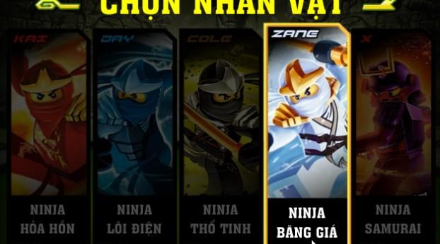 Cách chơi game Ninjago quyet dau 3